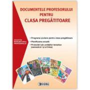 Documentele profesorului pentru clasa pregatitoare 2015-2016