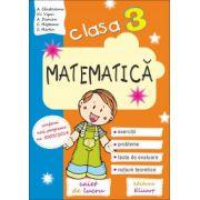 Matematica caiet de lucru pentru clasa a III-a. Exercitii, probleme, teste de evaluare, notiuni teoretice. Conform noii programe numarul 5003-2014