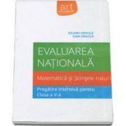 Evaluare nationala 2015. Matematica si Stiintele naturii pentru clasa a V-a (Eduard Dancila)