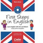 First Steps in English. Lecţii pentru incepatori (CD audio)