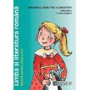 Limba si literatura romana. Manual pentru clasa a IV-a (Sofia Dobra)