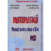 Matematica manual pentru clasa a XI-a. Trunchi comun + curriculum diferentiat. M2