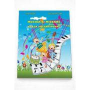 Muzica si miscare caiet de lucru pentru clasa pregatitoare (CD Gratuit)