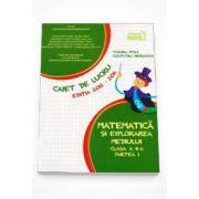 Matematica si explorarea mediului clasa a II-a partea I - Caiet de lucru editia 2015-2016 (Tudora Pitila)