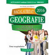 Bacalaureat geografie 2016 (36 de teste, dupa modelul M.E.C.S.)