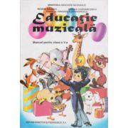 Educatie muzicala. Manual pentru clasa a V-a (Regeni Rausch)