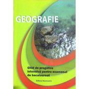 Geografie, ghid de pregatire intensiva pentru examenul de bacalaureat