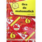 Ora de matematica, clasa a VI-a