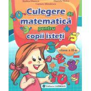 Culegere de matematica pentru copii isteti pentru clasa a II-a (Rodica Dinescu)