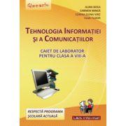 Tehnologia Informatiei si a Comunicatiilor, caiet pentru clasa a VIII-a