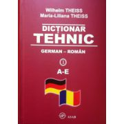 Dictionar tehnic German - Roman (4 vol.)