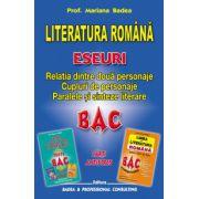 Literatura Romana, Eseuri. Relatia dintre doua personaje. Cupluri de personaje. Paralele si sinteze literare (Mariana Badea)