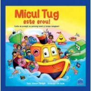 Micul Tug este erou! Carte de povesti cu personaj mobil si trasee magice