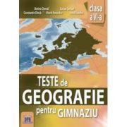 Teste de geografie pentru gimnaziu, clasa a VI-a