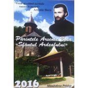 """Calendar 2016. Parintele Arsenie Boca """"Sfantul Ardealului"""""""