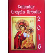 Calendar crestin-ortodox 2016 (de buzunar)