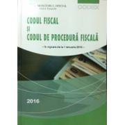 Codul fiscal si codul de procedura fiscala (ianuarie 2016)