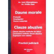 Daune morale - Clauze abuzive (2016)