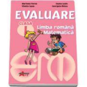 Evaluare pentru clasa I - Limba romana, Matematica