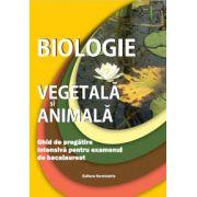 Biologie animala si vegetala, ghid de pregatire intensiva pentru examenul de bacalaureat