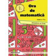 Ora de matematica, clasa a V-a semestrul 2