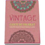Vintage. O selectie incantatoare de modele clasice - Carte de colorat pentru adulti