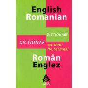 Dictionar englez-roman si roman-englez cu 35. 000 de termeni. Ghid gramatical al limbii engleze - Dana Carausu