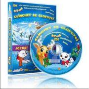 Clinchet de clopotei. Jocuri educationale 3-7 ani, (CD 4)