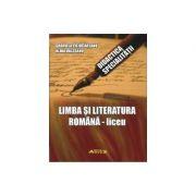 Limba si literatura romana - Liceu (Didactica Specialitatii)