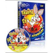 Fanica si Asaltul Microbilor. Jocuri educationale 3-7 ani (CD 9)