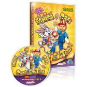 Fanica si CRBL, Cupa EduTeca. Jocuri educationale 3-7 ani (CD 12)