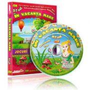 In vacanta mare. Jocuri educationale 3-7 ani, (CD 8)