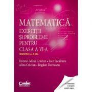 Matematica. Exercitii si probleme pentru clasa a VI-a, semestrul 2 (Dorinel-Mihai Craciun)