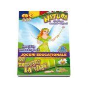 Natura se trezeste la viata. Invata in limba engleza. Jocuri educationale 3-7 ani (CD 5)