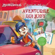Zootropolis. Citesc si ma joc - Aventurile lui Judy. Citeste si completeaza povestea! E timpul sa te joci!
