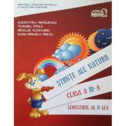 Stiinte ale naturii manual pentru clasa a III-a, semestrul 2 (contine varianta digitala) - Cleopatra Mihailescu, Tudora Pitila