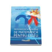 Memorator si indrumar de matematica pentru liceu (Gheorghe-Adalbert Schneider)
