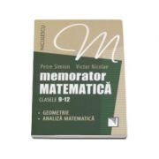 Memorator de matematica pentru clasele 9-12 - Geometrie, analiza matematica