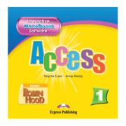 Curs limba engleza Access 1. Soft pentru tabla interactiva Beginner (A1)