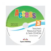 Curs limba engleza Access 3 CD. Teachers Resource Pack CD-ROM cu Teste