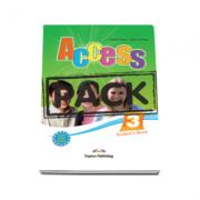 Curs limba engleza Access 3 Pachetul elevului. Students Book (+ ieBook), nivel Pre-Intermediate (B1)