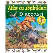 Atlas cu abtibilduri - Dinozauri (Sofija Stefanovic)