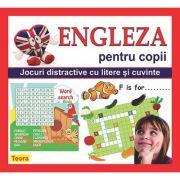 Engleza pentru copii. Jocuri distractive cu litere si cuvinte