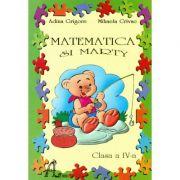 Matematica si Marty, caiet pentru clasa a IV-a - Adina Grigore