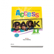 Pachetul elevului Access 1 - Students Book (+ ieBook). Curs limba engleza, nivel Beginner A1