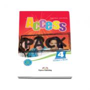 Pachetul elevului Access 4. Curs limba engleza, nivel Intermediate (B1) - Students Book (+ ieBook)