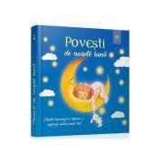 Povesti de noapte buna - Coperta lumineaza in intuneric si vegheaza somnul puiului tau!