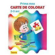 Prima mea carte de colorat 2-3 ani