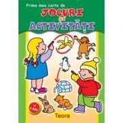 Prima mea carte de Jocuri si Activitati