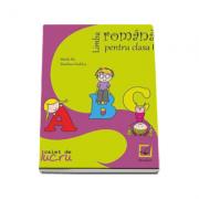 Comunicare in limba romana, caiet de lucru pentru clasa I-a (Mirela Ilie)